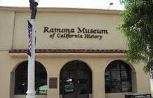 Photo of the Front of the Ramona Museum of California History