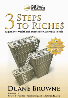 Duane Browne - 3 Steps To Riches