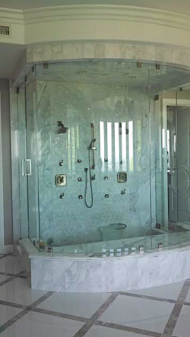 neo round shower doors