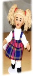 Lucillin raggedy doll collection all cloth doll
