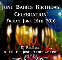 June Babies Birthday Party