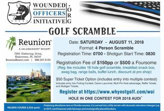 WOI Golf Scramble August 11, 2018