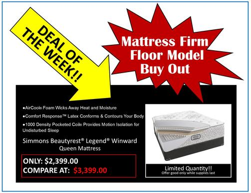 Mattress Firm Floor Model Buy Out - Purple .2 Mattress