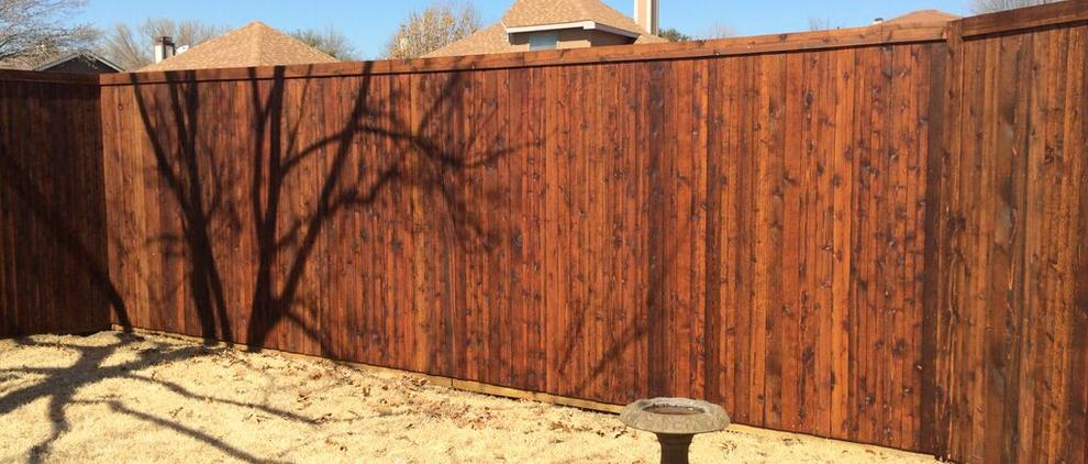 8' Side by Side Fence with Standard Trim