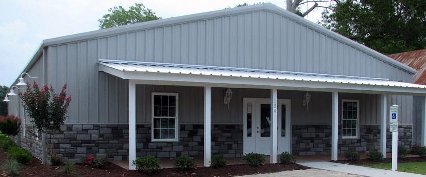 Legs for metal buildings site for Metal homes in oklahoma