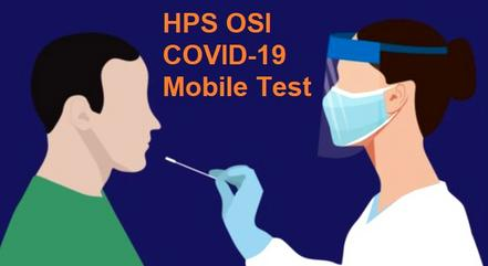 HPS will test you at your home or office for COVID-19