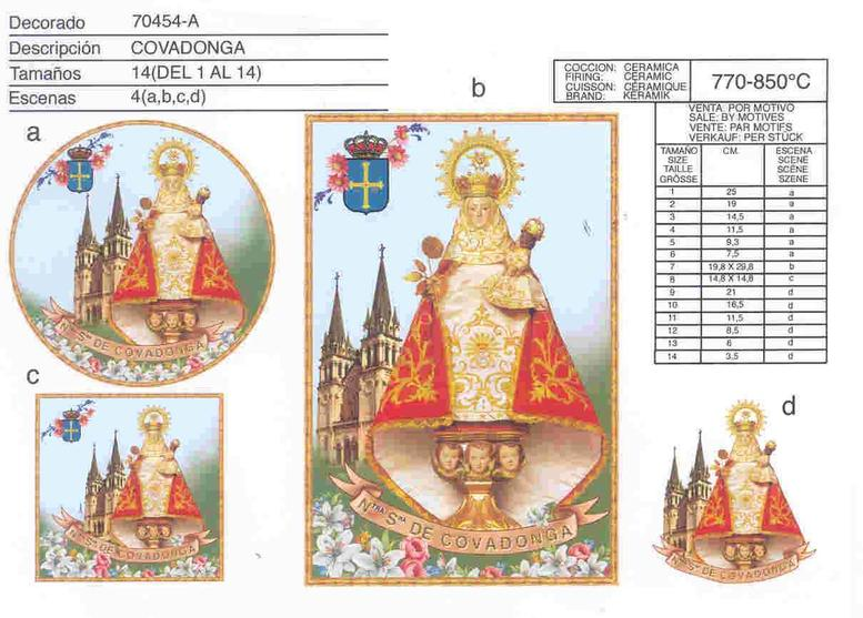 Calcomanías para porcelana by Calcodecal