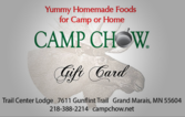 Camp Chow Gift Card