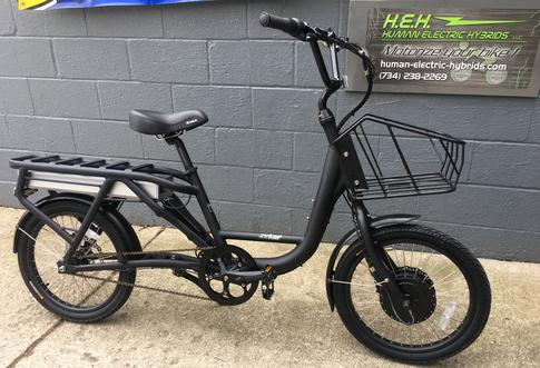 Juiced Bikes U500 delivery eBike