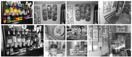 black_and_white_photos_of_tattoo_shop