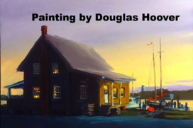 Painting by Douglas Hoover