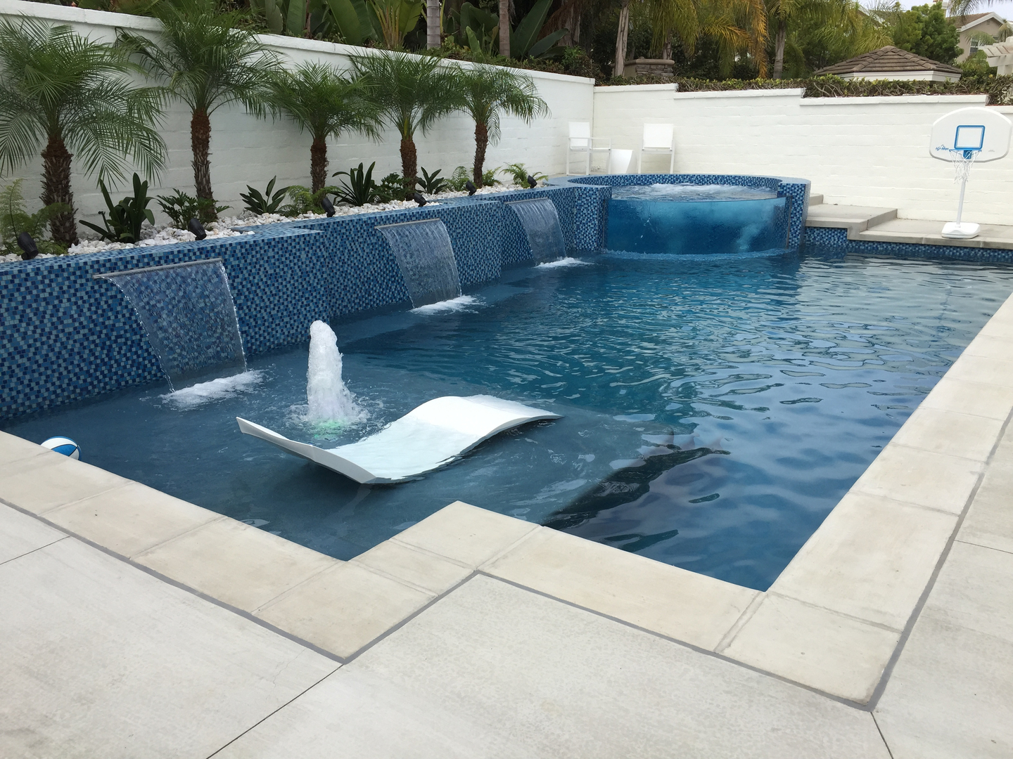 Contemporary Pool meridian custom pools - swimming pool construction, modern and
