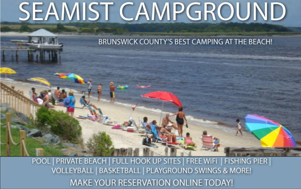 Seamist Campground In Ocean Isle Beach, Nc