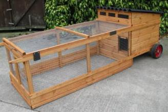 Portable Wheeled Chicken coops for sale Scotland