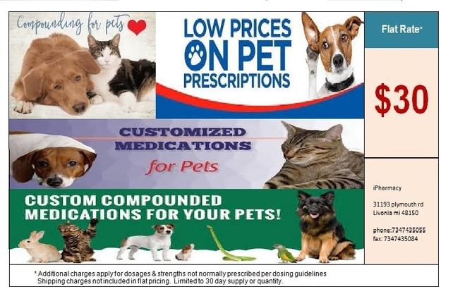 Michigan Compounding Veterinary Pharmacy Livonia Michigan Westland