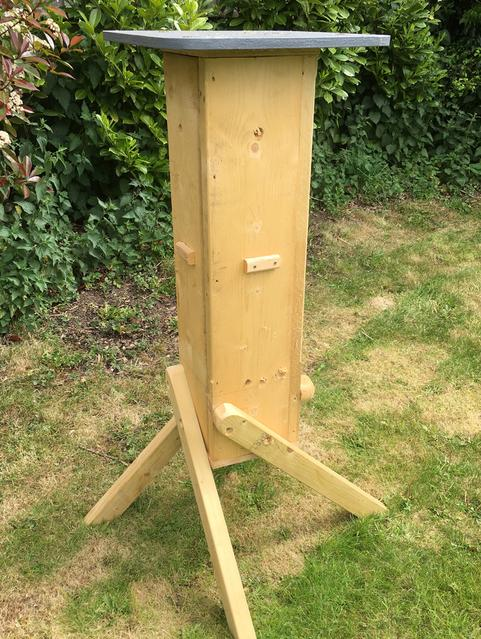 bug hotel for honey bees