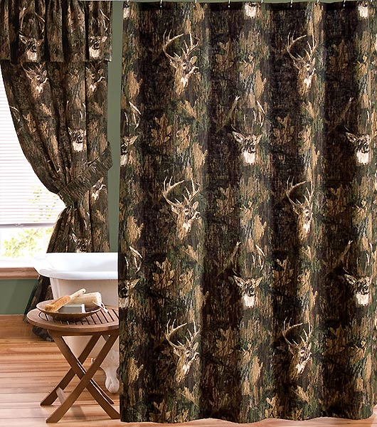 Rustic and Western Themed Bathroom Shower Curtains