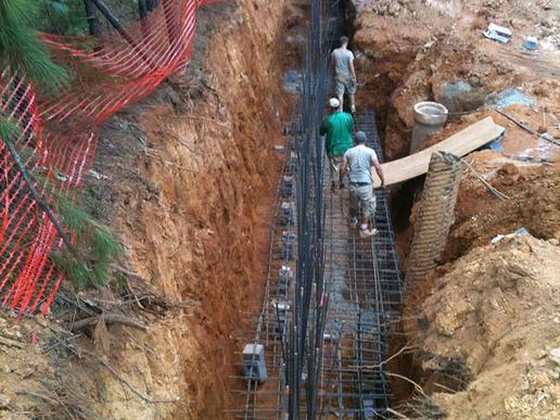RETAINING WALL CONSTRUCTION SERVICE