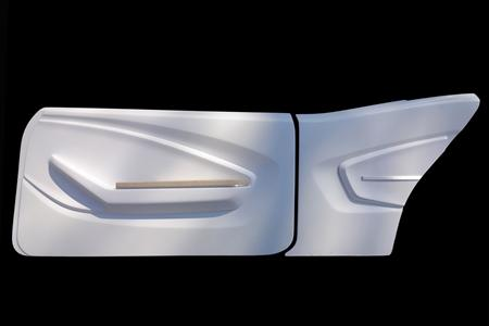 Modern classics custom car interior custom car interior for Car interior door panel designs