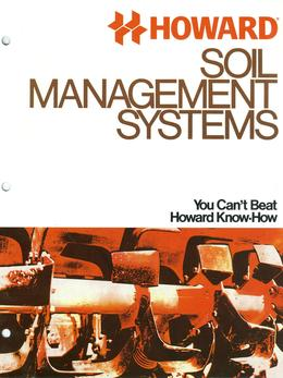 Howard Rotavator Soil Management Systems Brochure