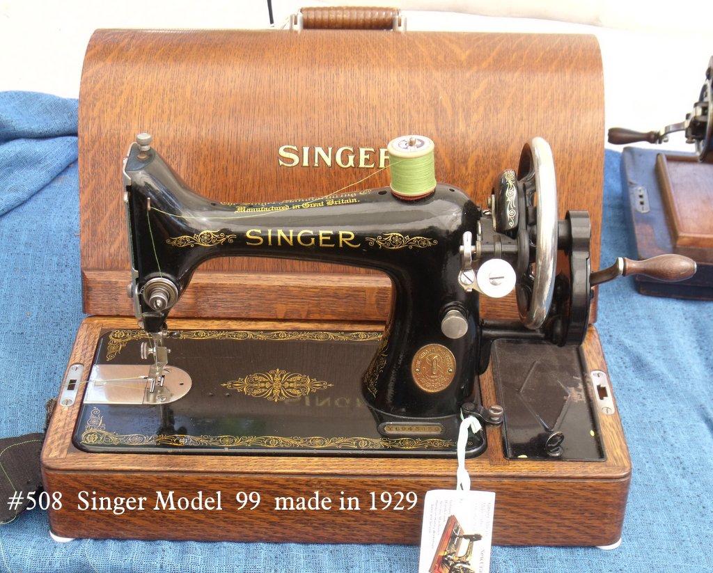 singer sewing machine year made