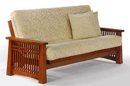 Solstice Futon Frame by Night & Day