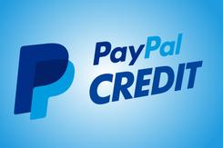 Paypal credit over $99 no interest for 6 moonths