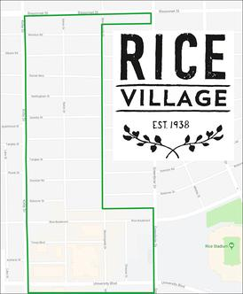 Rice Village Map
