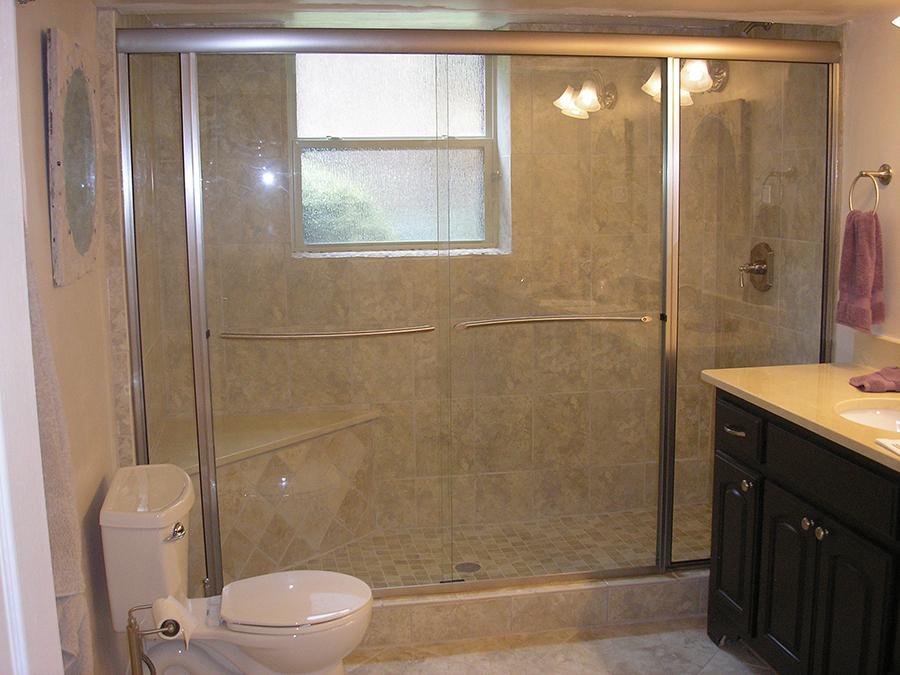 Semi-Frameless   Shower Doors by TJ