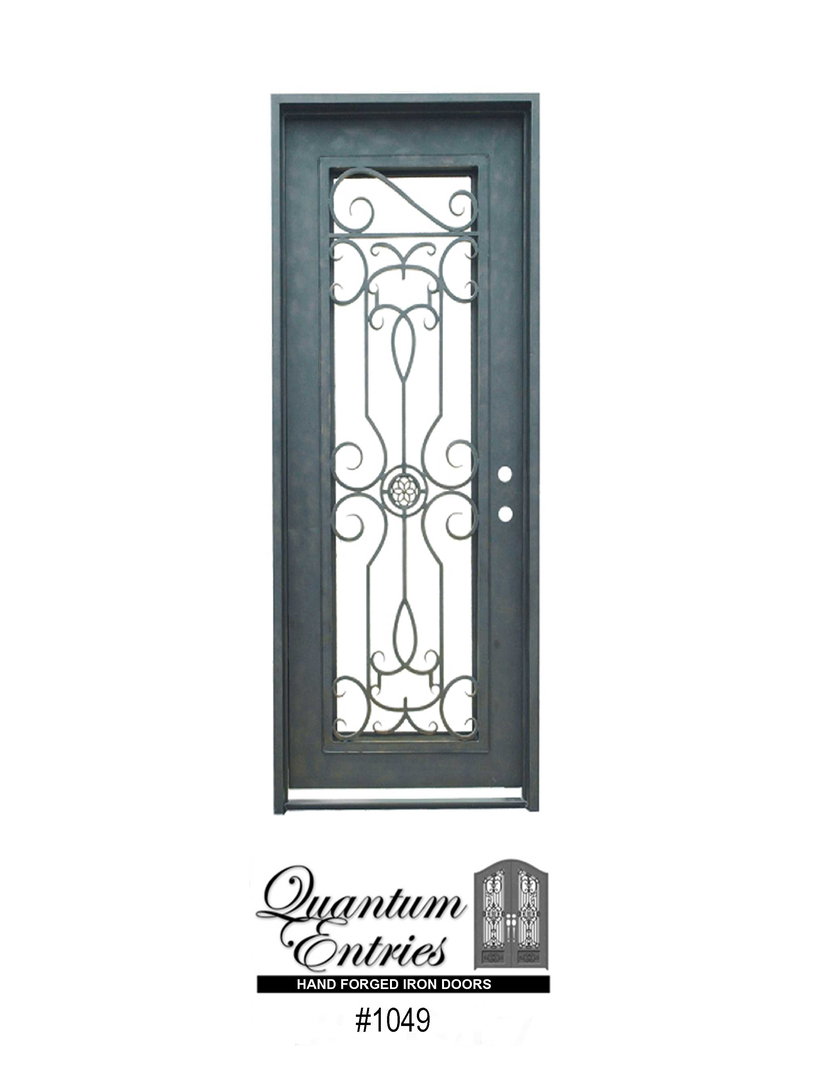 Quantum Entries Wrought Iron Entry Doors Custom Doors Custom