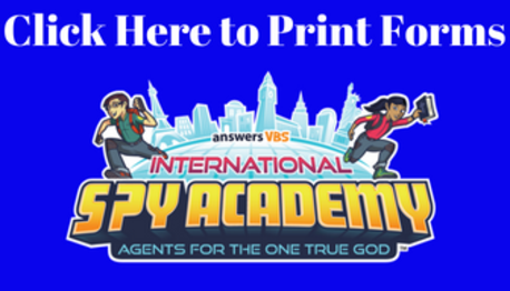 VBS Printable Registration