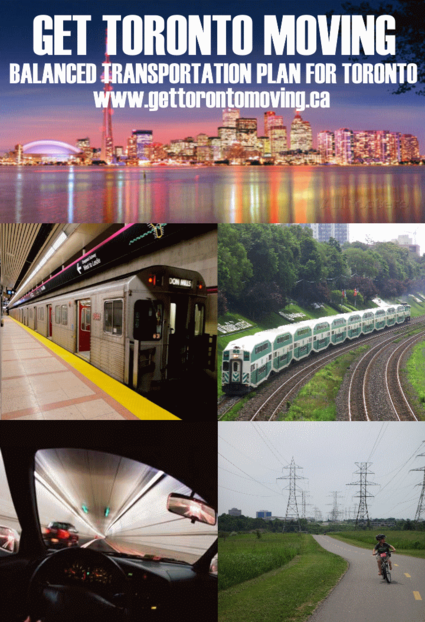 Get Toronto Moving Transportation Plan Summary Report