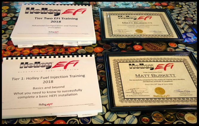 Holley EFI Certification