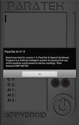 Paranormal Puck App