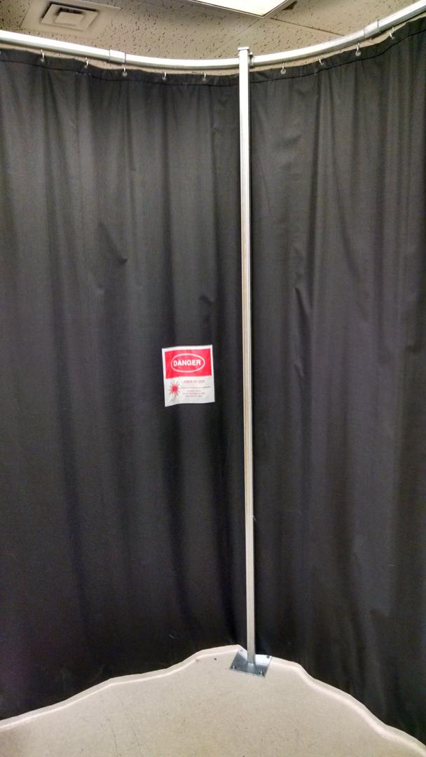Laser Blocking Curtains | BEAMSTOPR.com