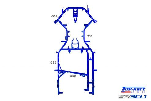 Swell Amk Race Products Top Kart Twister Chassis Ibusinesslaw Wood Chair Design Ideas Ibusinesslaworg