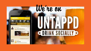 We're on Untappd!