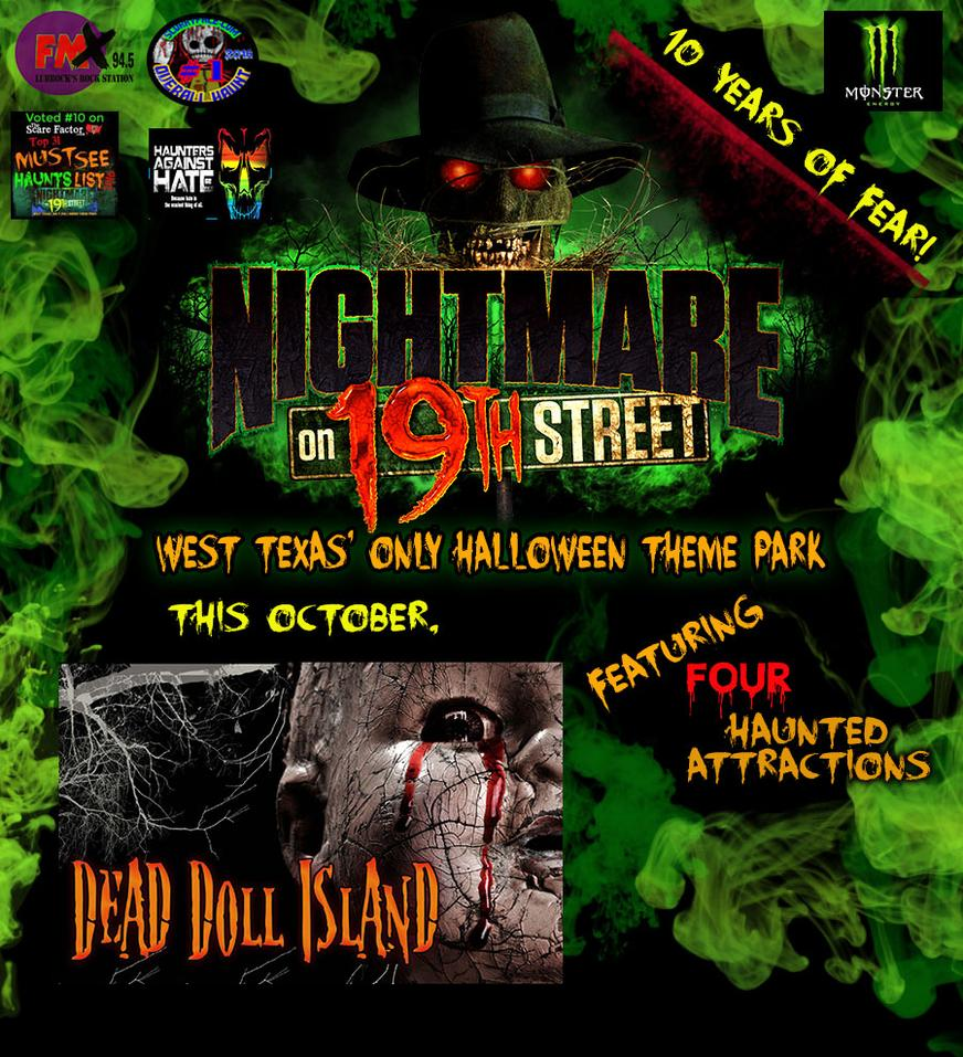 lonestar events center 602 east 19th street lubbock tx 79404 to find us you must enter the main gates turn right and drive far back into the old parking - Halloween Events In Texas