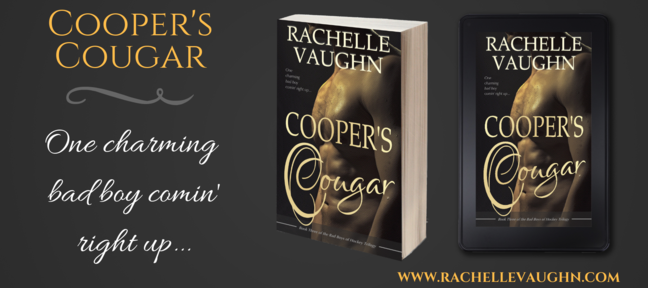 bad boys of hockey romance book trilogy cooper's cougar rachelle vaughn