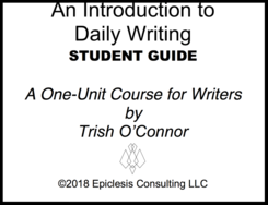 introductory daily writing course
