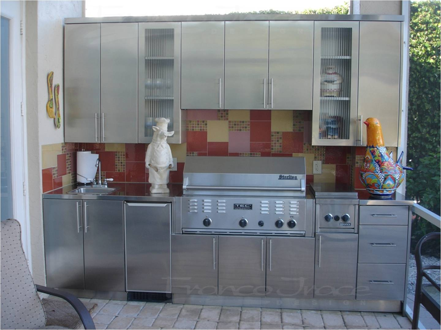 quality design 948ac 68196 Stainless Steel Kitchen Cabinets