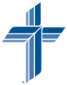 Image of the Blue Lutheran Cross