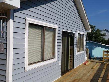 Exterior Renovation - New Siding - New Deck - Outer Banks - NC