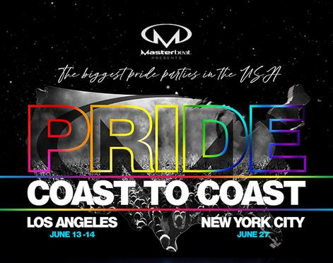 Masterebeat Pride on Both Coasts