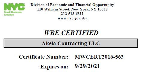 AKELA CONTRACTING LLC