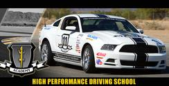 Mustang Driving School at CVR