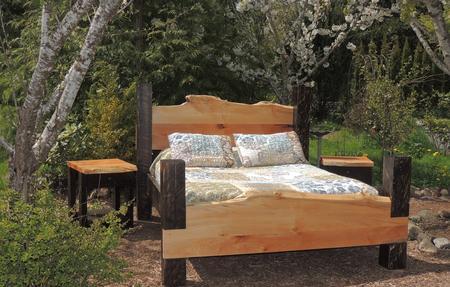 Deep forest log furniture log furniture bedroom