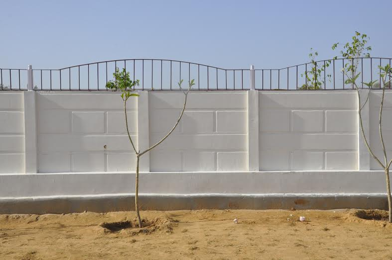 BIGGEST Manufacturer of PRECAST BOUNDARY WALL COMPOUND WALL RCC
