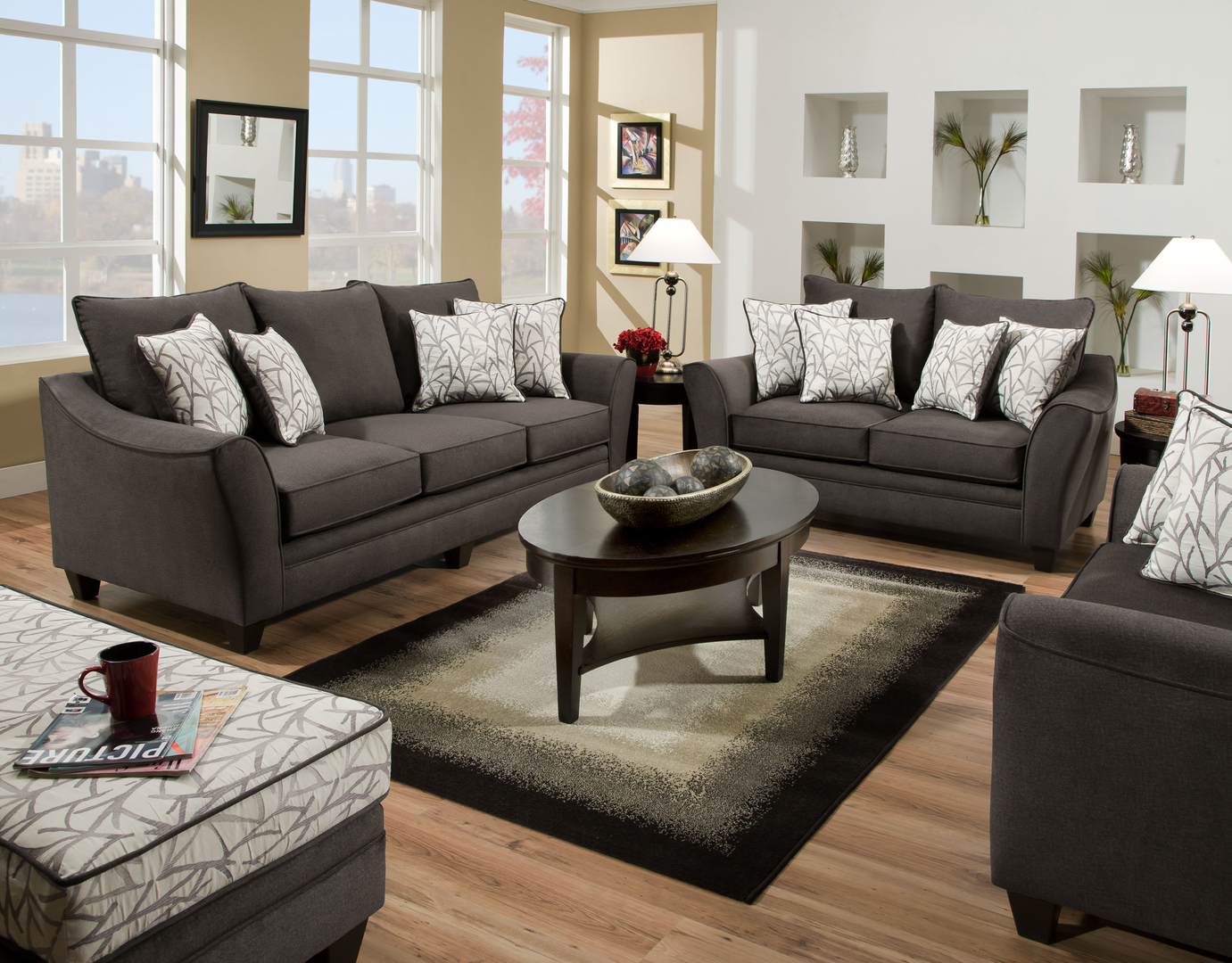 view on mobile - Entire Living Room Furniture Sets