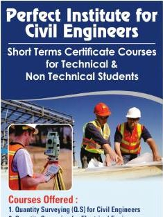 Construction Contract Manger - Perfect Institute For Civil Engineers